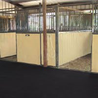Custom Interlocking Stall Mats